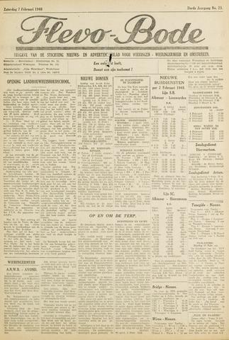 Flevo-bode: nieuwsblad voor Wieringen-Wieringermeer 1948-02-07
