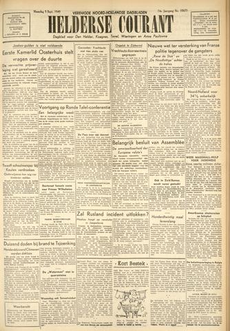 Heldersche Courant 1949-09-05