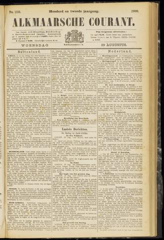 Alkmaarsche Courant 1900-08-29