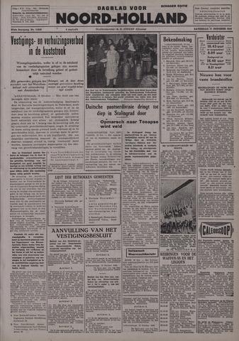 Dagblad Noord-Holland, Schager editie 1942-10-17