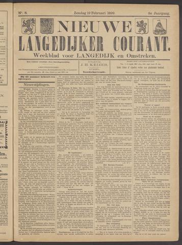 Nieuwe Langedijker Courant 1899-02-19