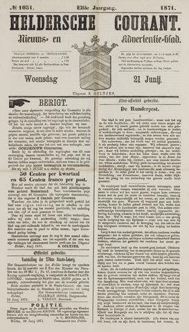 Heldersche Courant 1871-06-21