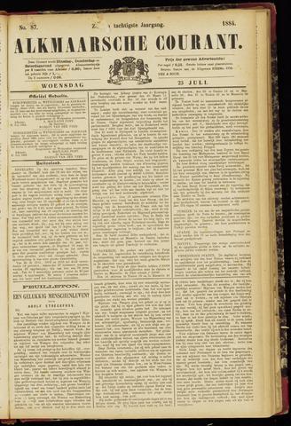 Alkmaarsche Courant 1884-07-23