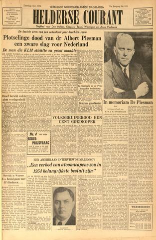 Heldersche Courant 1954-01-02