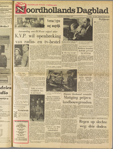 Noordhollands Dagblad : dagblad voor Alkmaar en omgeving 1964-09-17