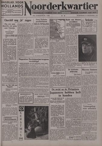 Dagblad voor Hollands Noorderkwartier 1941-12-24