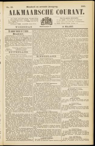 Alkmaarsche Courant 1905-03-15