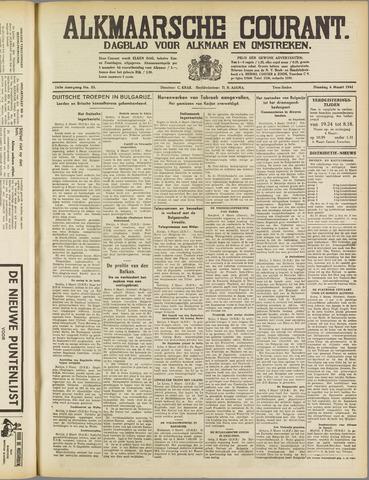 Alkmaarsche Courant 1941-03-04