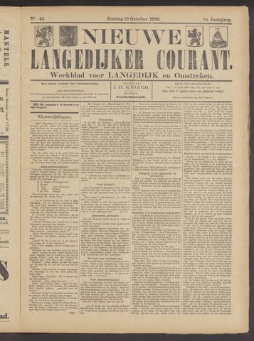 Nieuwe Langedijker Courant 1898-10-16