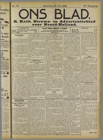 Ons Blad : katholiek nieuwsblad voor N-H 1912-07-20