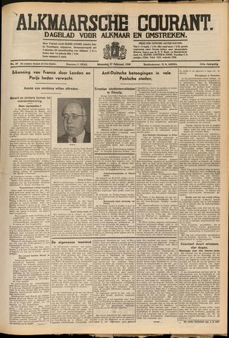 Alkmaarsche Courant 1939-02-27