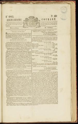 Alkmaarsche Courant 1845-10-27