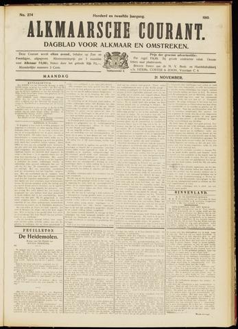 Alkmaarsche Courant 1910-11-21
