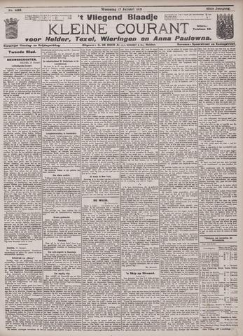 Vliegend blaadje : nieuws- en advertentiebode voor Den Helder 1912-01-17