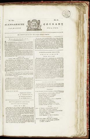 Alkmaarsche Courant 1821-04-30