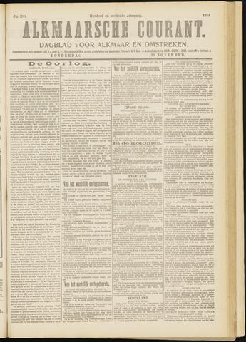 Alkmaarsche Courant 1914-11-26