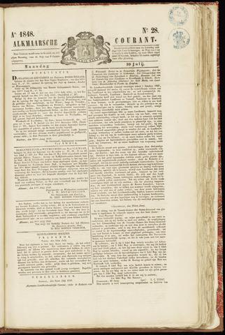 Alkmaarsche Courant 1848-07-10