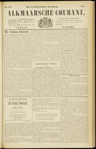 Alkmaarsche Courant 1894-10-26