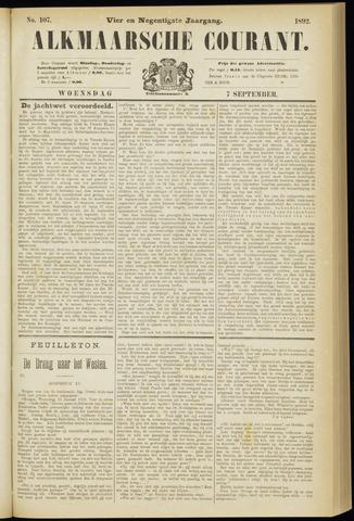 Alkmaarsche Courant 1892-09-07
