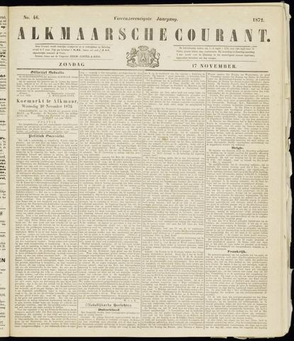 Alkmaarsche Courant 1872-11-17