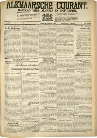 Alkmaarsche Courant 1933-08-04