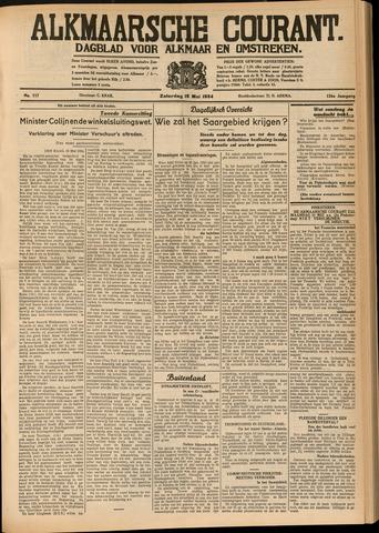 Alkmaarsche Courant 1934-05-19