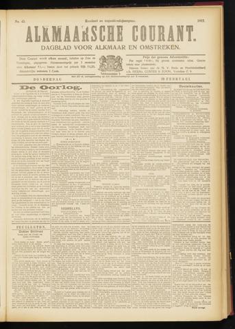 Alkmaarsche Courant 1917-02-22
