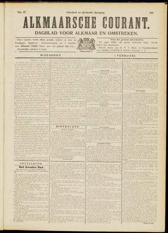 Alkmaarsche Courant 1911-02-01
