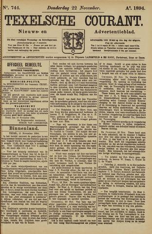 Texelsche Courant 1894-11-22