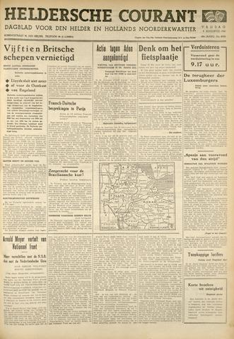 Heldersche Courant 1940-08-09