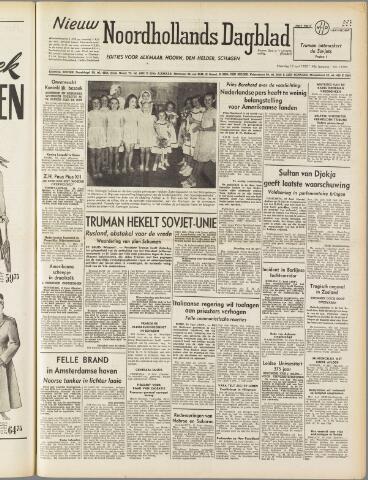 Nieuw Noordhollandsch Dagblad : voor Alkmaar en omgeving 1950-06-12
