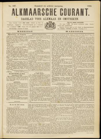 Alkmaarsche Courant 1906-08-22