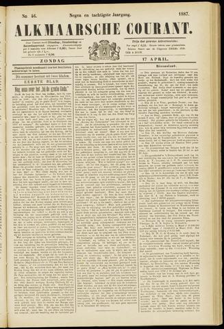 Alkmaarsche Courant 1887-04-17