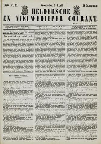 Heldersche en Nieuwedieper Courant 1870-04-06