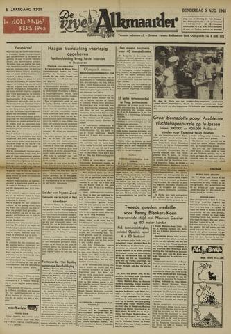 De Vrije Alkmaarder 1948-08-05