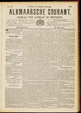 Alkmaarsche Courant 1907-03-27