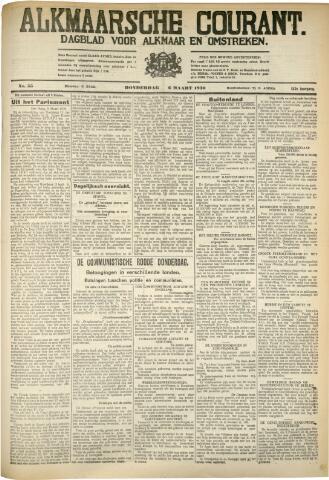 Alkmaarsche Courant 1930-03-06