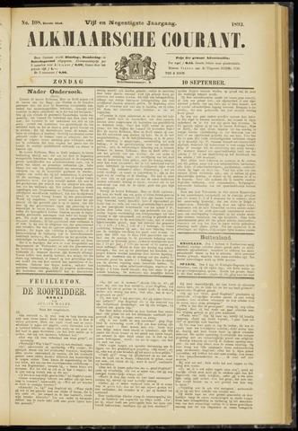 Alkmaarsche Courant 1893-09-10
