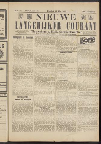 Nieuwe Langedijker Courant 1927-05-10