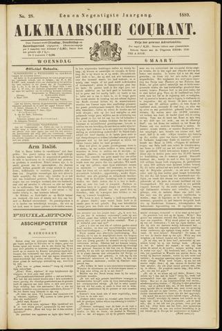 Alkmaarsche Courant 1889-03-06