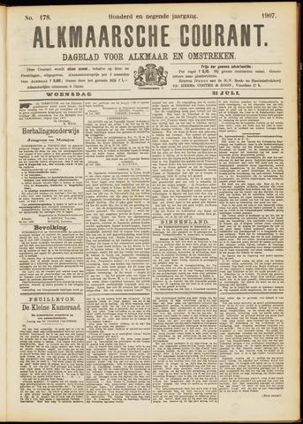 Alkmaarsche Courant 1907-07-31