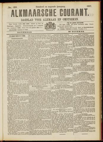 Alkmaarsche Courant 1907-10-26