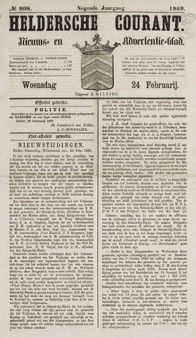 Heldersche Courant 1869-02-24