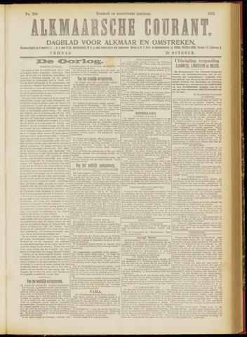 Alkmaarsche Courant 1915-10-22
