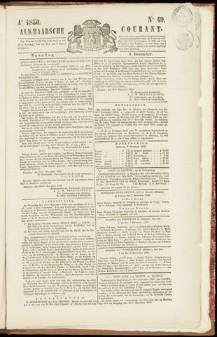 Alkmaarsche Courant 1850-12-09
