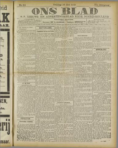 Ons Blad : katholiek nieuwsblad voor N-H 1919-05-16