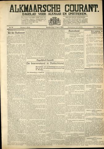 Alkmaarsche Courant 1933-04-06