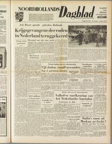 Noordhollands Dagblad : dagblad voor Alkmaar en omgeving 1953-05-08