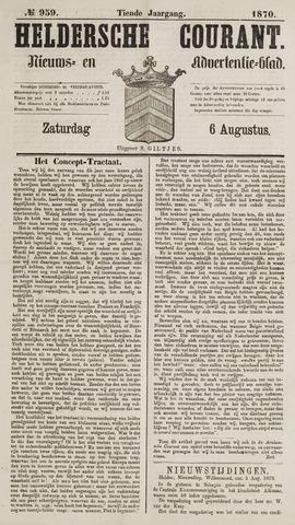 Heldersche Courant 1870-08-06