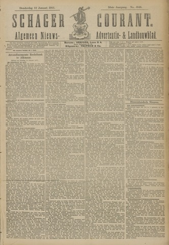 Schager Courant 1911-01-12